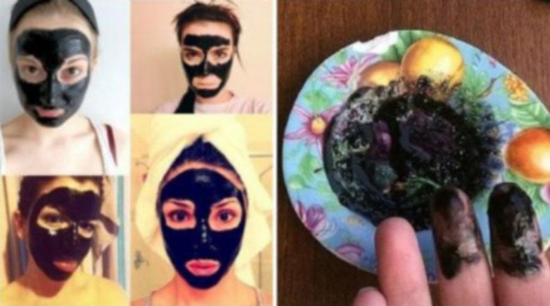 Не се плашете от черната маска! Тя премахва петна, пъпки и обриви