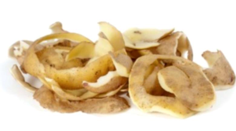 Картофени обелки при болки в гърлото, бронхит, хемороиди и напукани пети