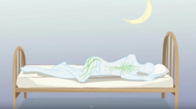 Аюрведа: Защо е вредно да спите по гръб и по корем?