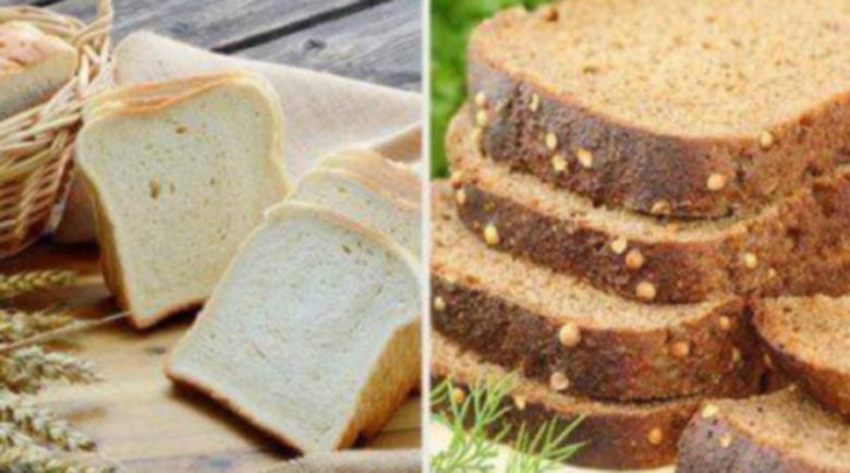 Никога не съхранявайте белия до черния хляб!