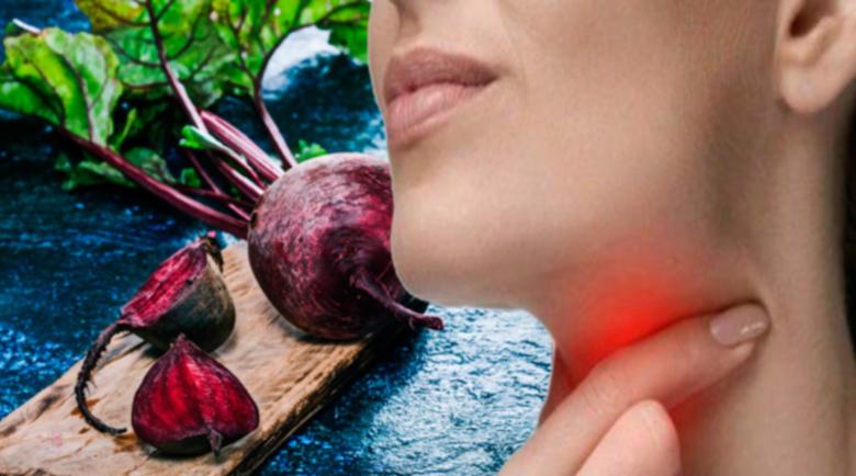 5 начина за лечение на болно гърло с червено цвекло