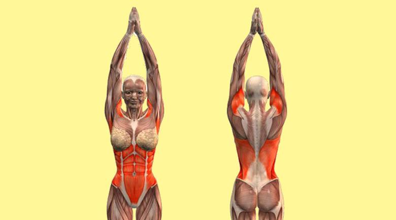 Лесно упражнение помага при болки в гърба и стяга тялото