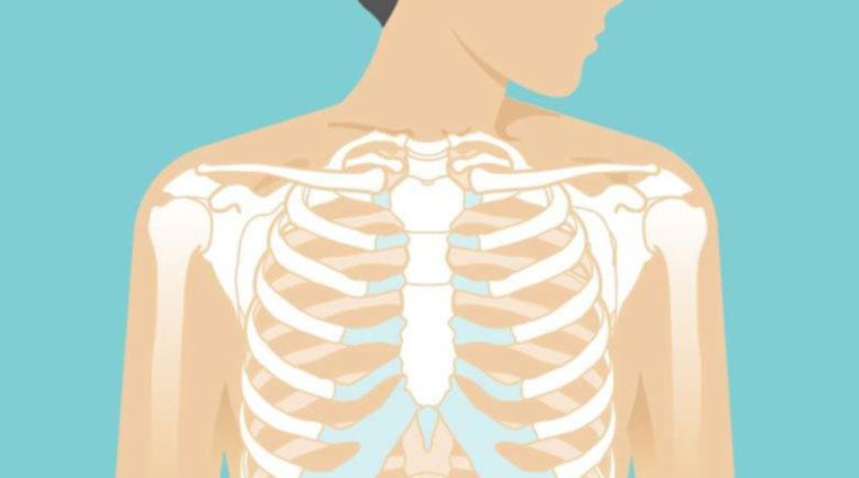 Методът на Лоуен премахва мускулните скоби в областта на гърдите