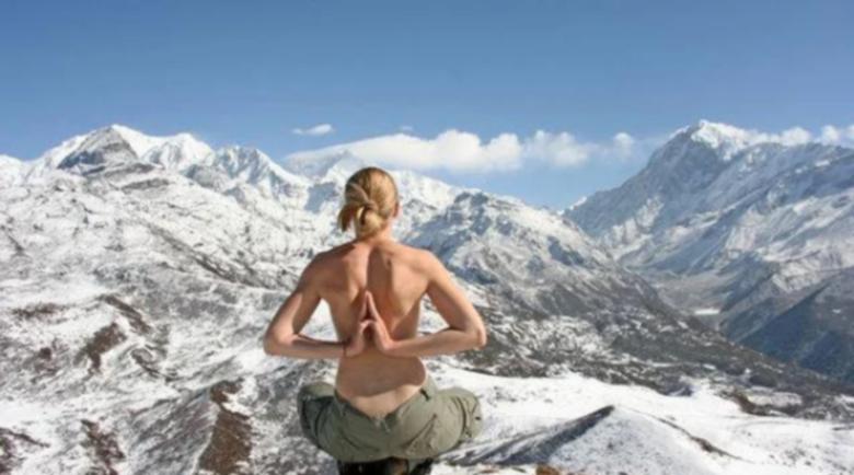 Закаляването със сняг укрепва здравето